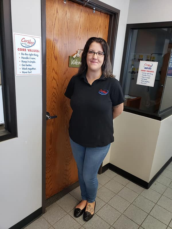 Salesperson Sara Williams