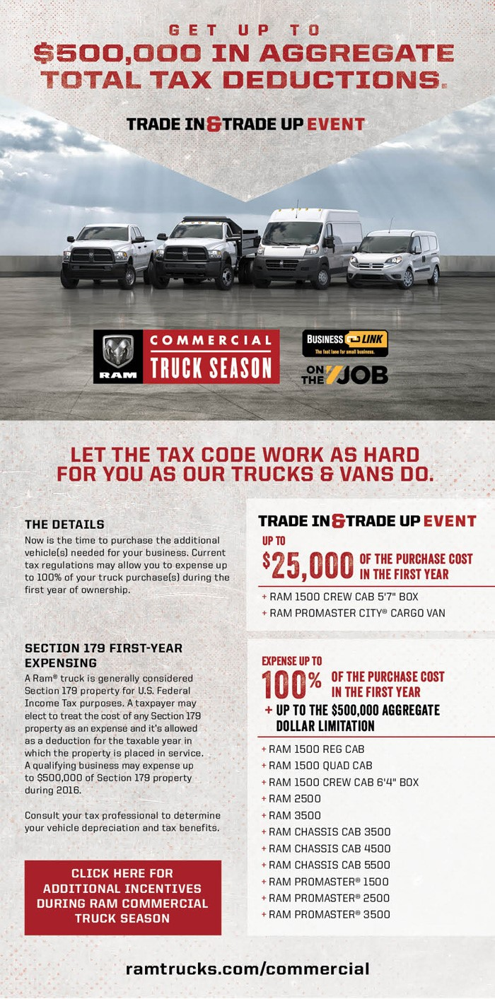 carright chrysler dodge jeep ram fuso moon township businesslink business link ram commercial truck tax deduction