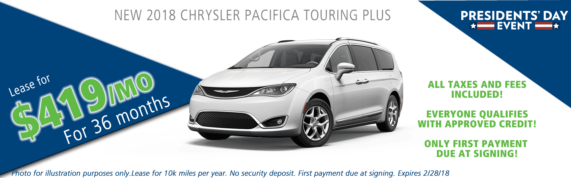 2018 chrysler pacifica touring plus carright auto moon twp vehicle specials and sales