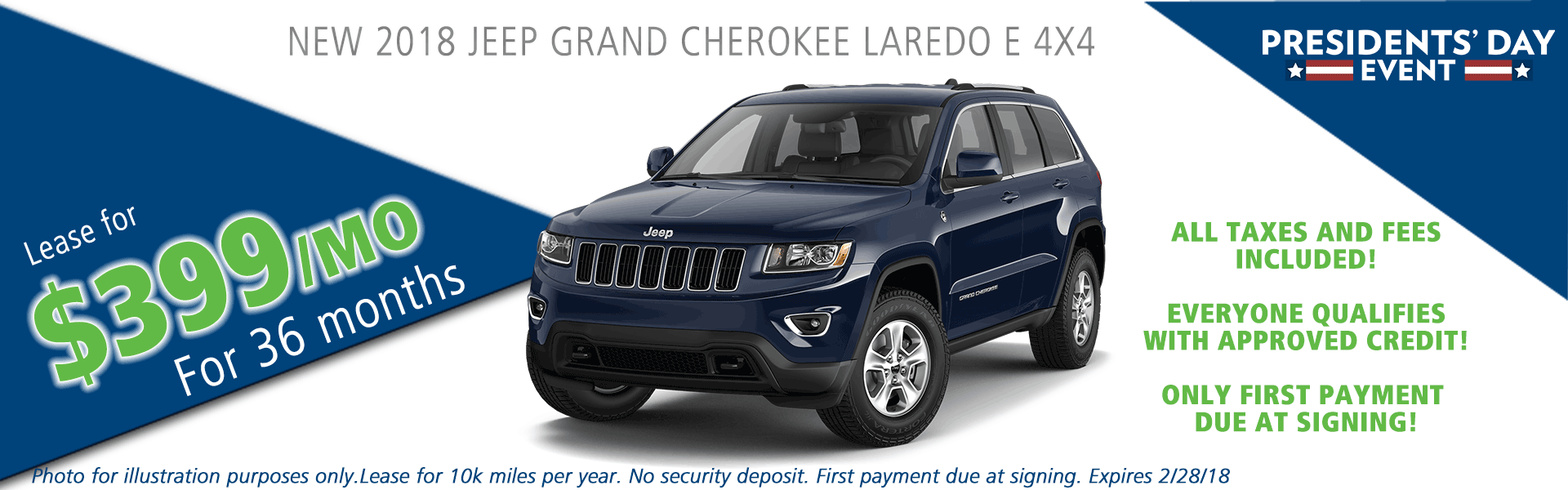 2018 jeep grand cherokee laredo 4x4 carright auto moon twp vehicle specials and sales