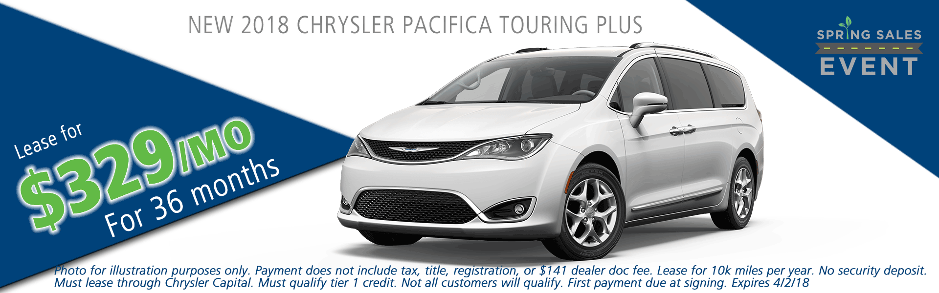 2018 chrylser pacifica touring plus carright auto moon township pittsburgh