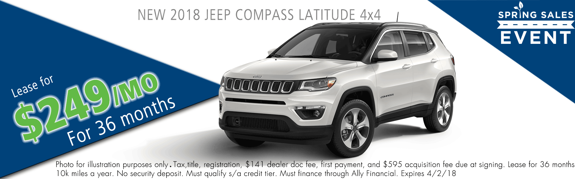 2018 jeep compass latitude 4x4 carright auto moon township pittsburgh