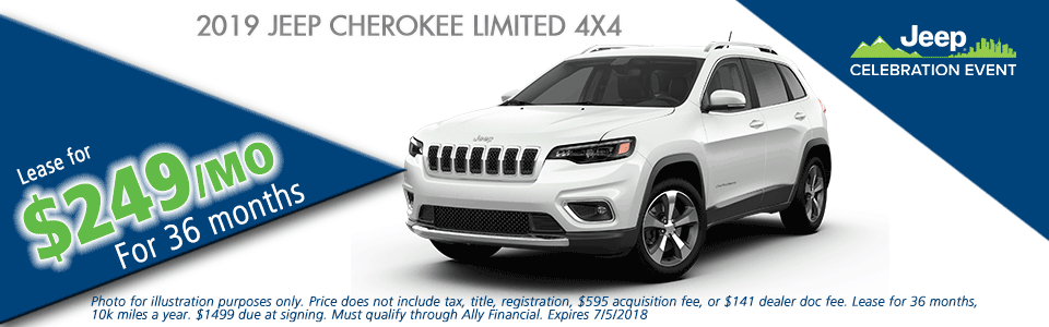NEW 2019 JEEP CHEROKEE LIMITED 4X4 carright chrysler jeep dodge ram moon township pennsylvania pittsburgh