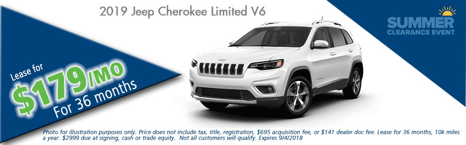 Carright Automotive Chrysler Jeep Dodge Ram Moon Township PA NEW 2019 JEEP CHEROKEE LIMITED 4X4