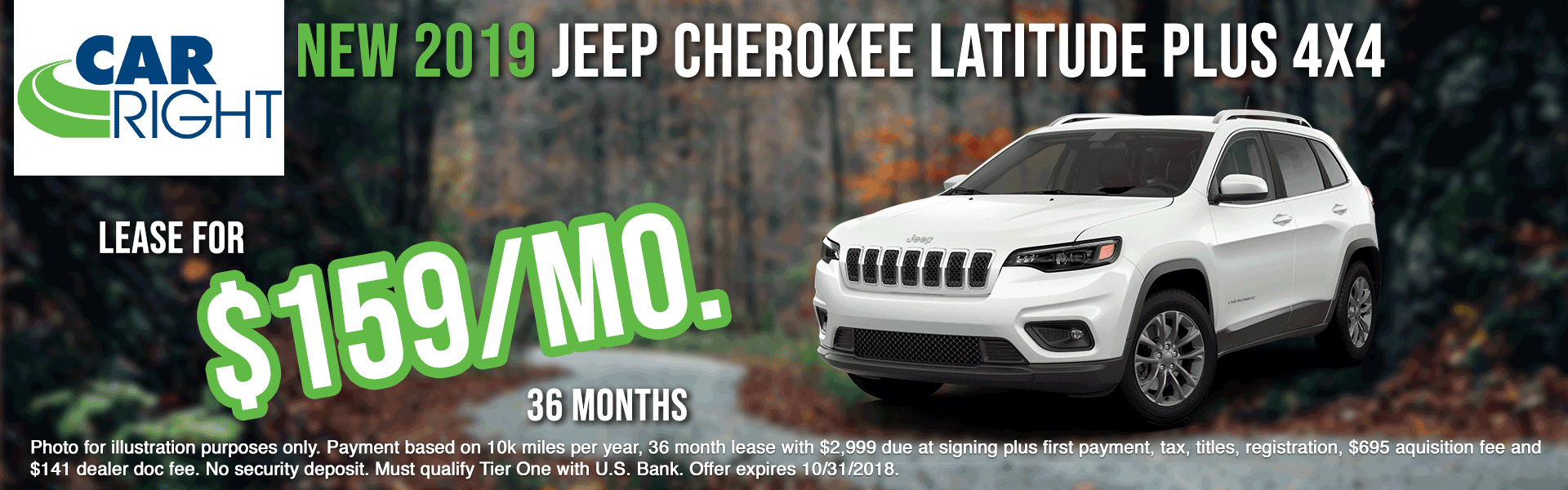 carright new vehicle specials carright specials chrysler specials dodge specials jeep specials ram specials lease specials moon township buy your car right the right way to buy a car K2923---2019-JEEP-CHEROKEE-LATITUDE-PLUS-4X4-OCT-BIG