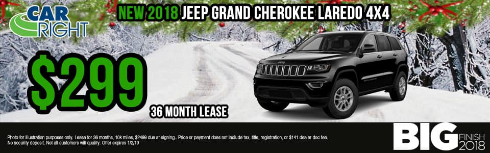 Carright Moon Township, PA. New and used vehicle sales. Service, parts, accessories NEW 2018 JEEP GRAND CHEROKEE LAREDO 4X4