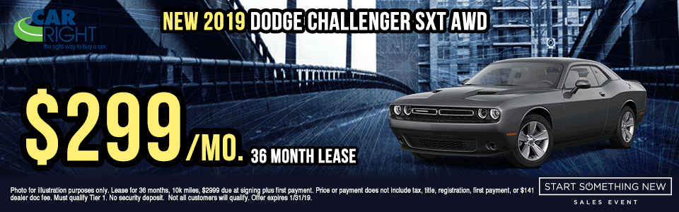 N3074---2019-DODGE-CHALLENGER-SXT-AWD chrysler specials dodge specials jeep specials ram specials lease specials retail specials incentives shop now start something new sales event new vehicle specials carright specials
