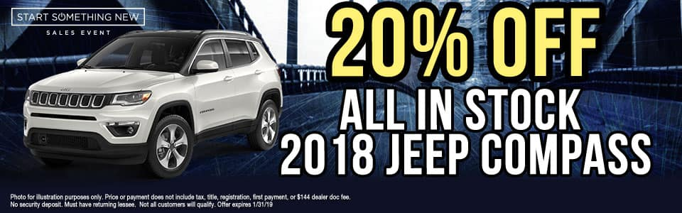 Carright Auto moon township new used service parts 20% off all in stock jeep compass