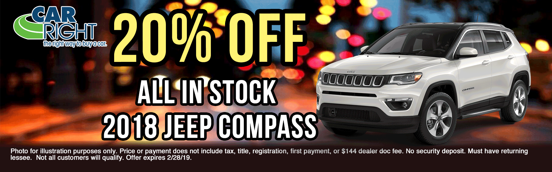 Jeep-Compass-20 presidents day sales event Ram truck month new vehicle specials ram specials carright specials carright Chrysler dodge jeep ram moon township Chrysler specials jeep specials dodge specials truck specials lease specials