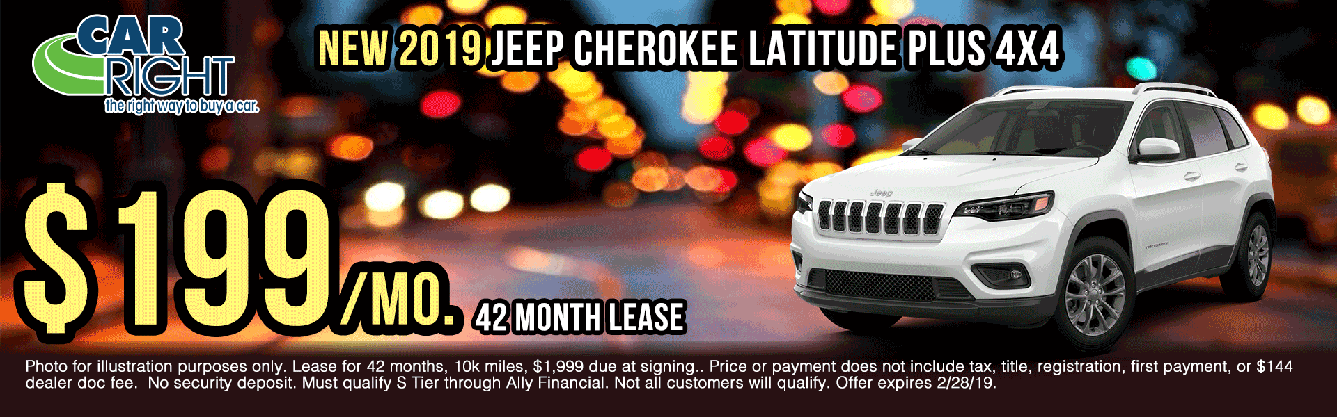 K3418-2019-jeep-cherokee-latitue-plus-4x4 presidents day sales event Ram truck month new vehicle specials ram specials carright specials carright Chrysler dodge jeep ram moon township Chrysler specials jeep specials dodge specials truck specials lease specials