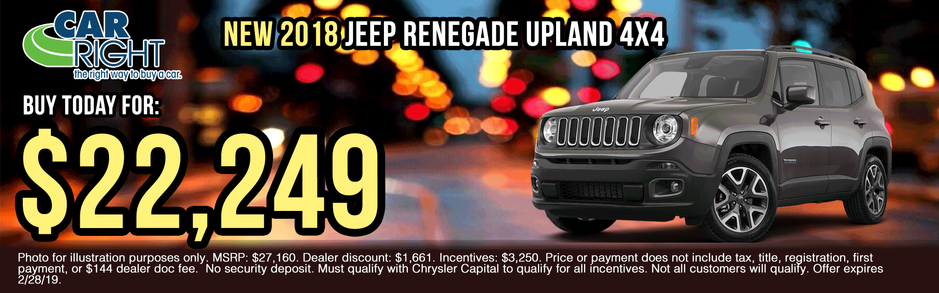 V2859-2018-jeep-renegade-upland-4x4 presidents day sales event Ram truck month new vehicle specials ram specials carright specials carright Chrysler dodge jeep ram moon township Chrysler specials jeep specials dodge specials truck specials lease specials
