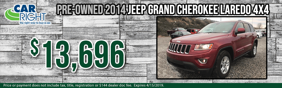 g0037a-2014-jeep-grand-cherokee Spring sales event carright Chrysler dodge jeep ram Diehl auto moon township Pittsburgh pre-owned vehicle special used special certified pre-owned cpo jeep specials