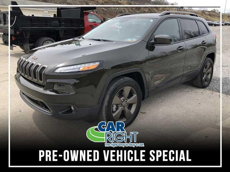 CERTIFIED PRE-OWNED 2016 JEEP CHEROKEE 75TH ANNIVERSARY EDITION 4WD