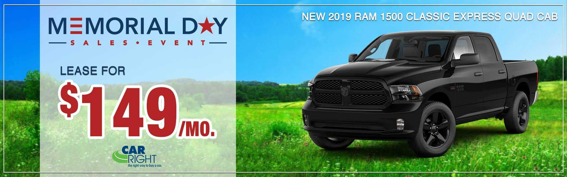B3108-2019-ram-1500-classic-express-600x400 Jeep celebration event Chrysler Pacifica blockbuster sales event dodge performance days bigger things sales event Memorial Day sales event carright moon township Pittsburgh new vehicle specials lease specials