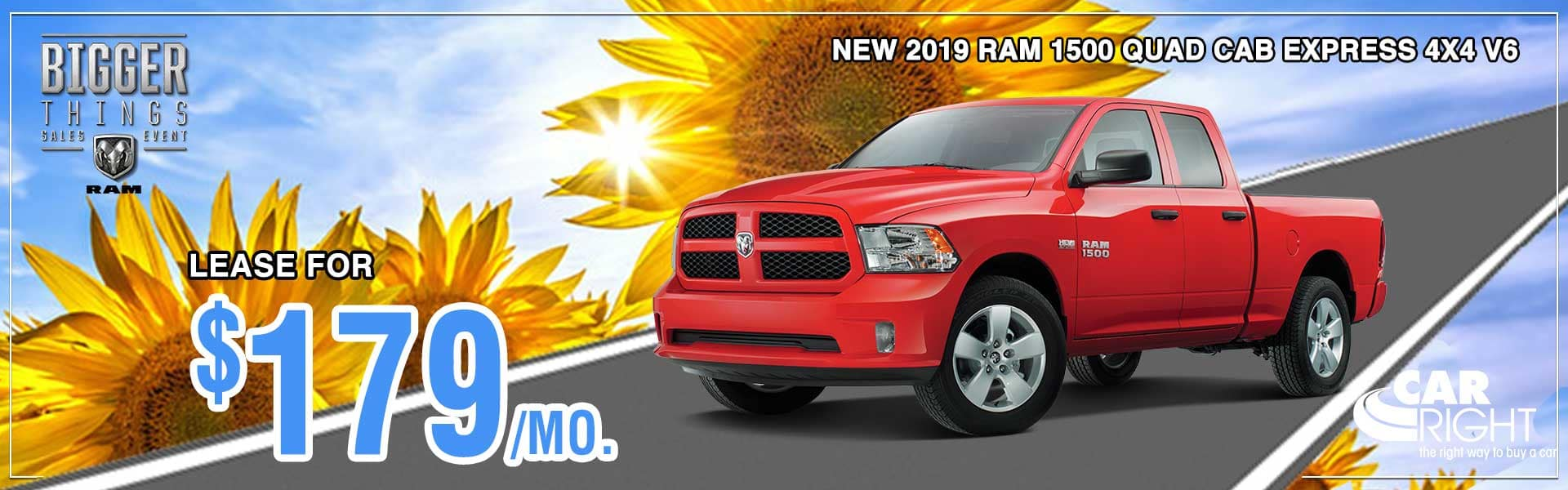 CarRight Chrysler Jeep Dodge Ram Fuso. Moon Township, PA. New, Used, parts, accessories, service. The right way to buy a car.. 2019 Ram 1500 Quad Cab Express 4x4