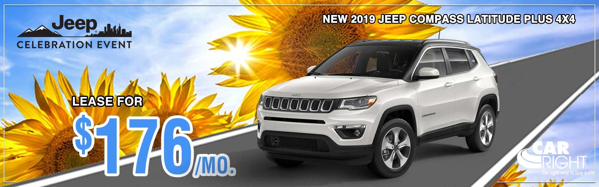 CarRight Chrysler Jeep Dodge Ram Fuso. Moon Township, PA. New, Used, parts, accessories, service. The right way to buy a car.. 2019 Jeep Compass Latitude 4x4