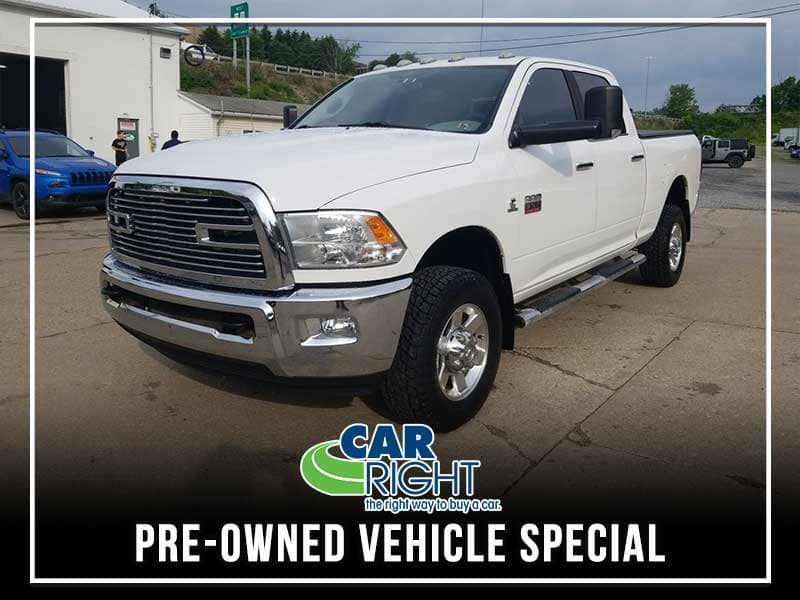 PRE-OWNED 2012 RAM 3500 BIG HORN 4WD