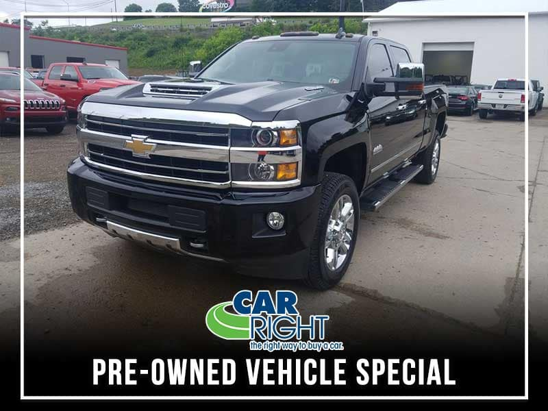 PRE-OWNED 2018 CHEVROLET SILVERADO 2500HD HIGH COUNTRY 4WD