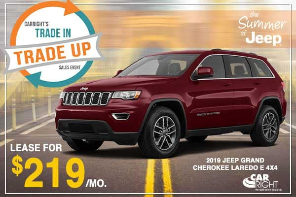 NEW 2019 JEEP GRAND CHEROKEE LAREDO E 4X4