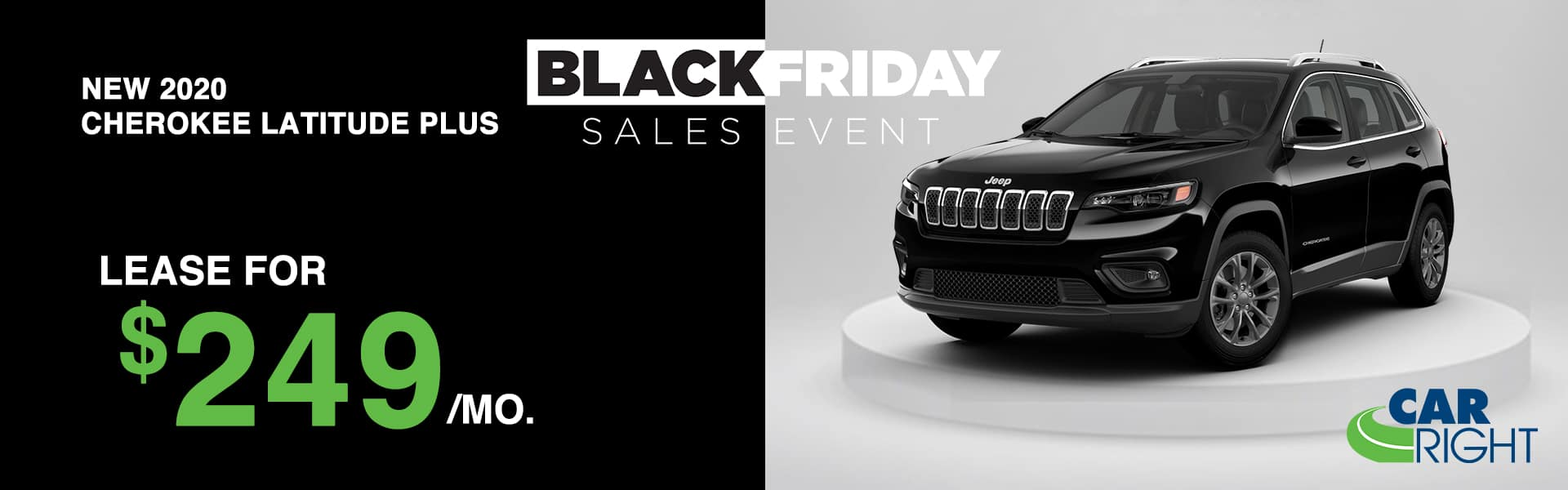 CARRIGHT-J201010-JEEPCHEROKEELATITUDEPLUS Carright moon township Pittsburgh diehl auto Chrysler dodge jeep ram Black Friday sales event lease special new vehicle special sale year end savings employee pricing plus