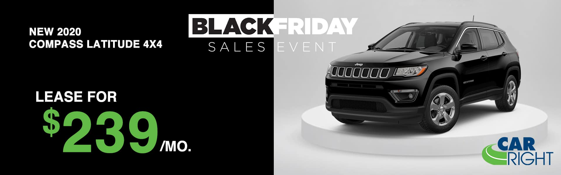CARRIGHT-2020JEEPCOMPASS Carright moon township Pittsburgh diehl auto Chrysler dodge jeep ram Black Friday sales event lease special new vehicle special sale year end savings employee pricing plus