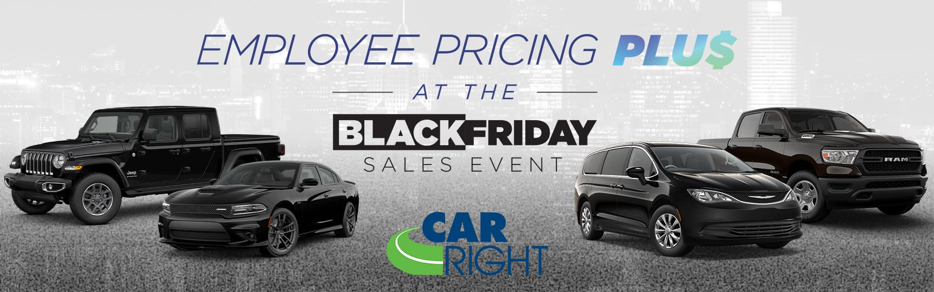 Carright moon township Chrysler dodge jeep ram employee pricing Black Friday sales event