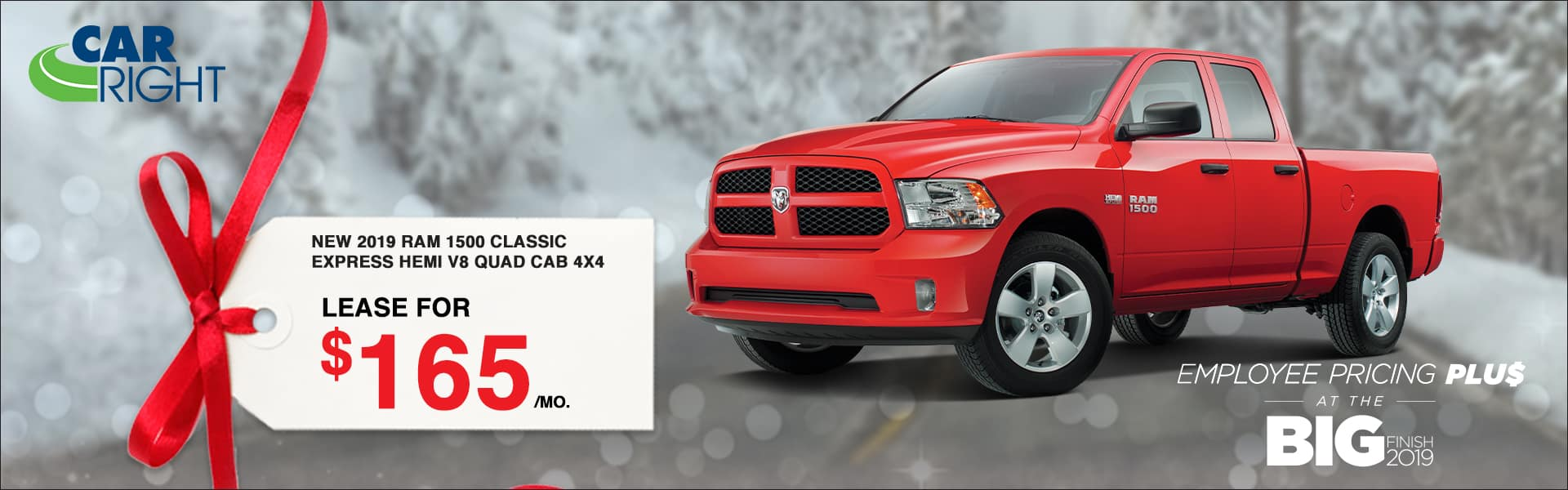 B4219_2019RAM1500CLASSIC Big finish event employee pricing plus Chrysler dodge jeep ram carright moon township diehl automotive lease special buy now savings discount