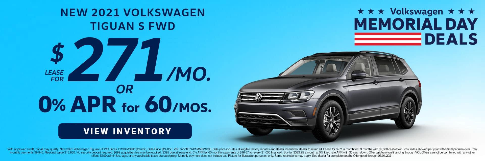 CVWG-May 20212020 Volkswagen Tiguan