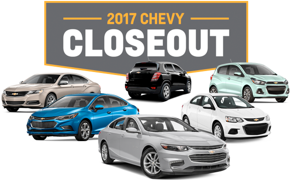 Chevy Car Line Up
