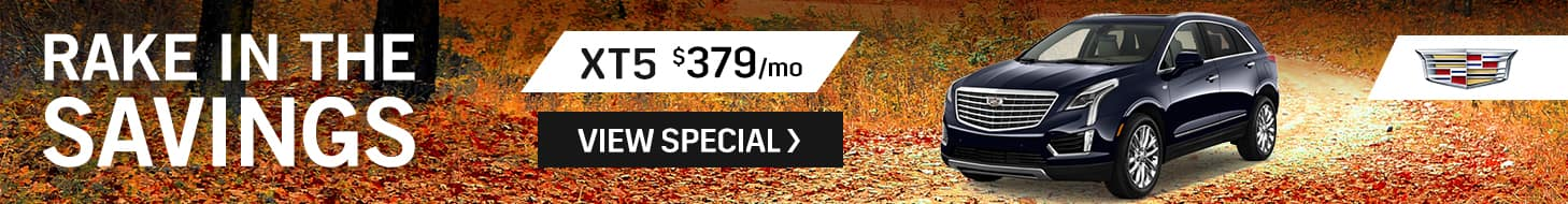 Cadilac XT5 September Special
