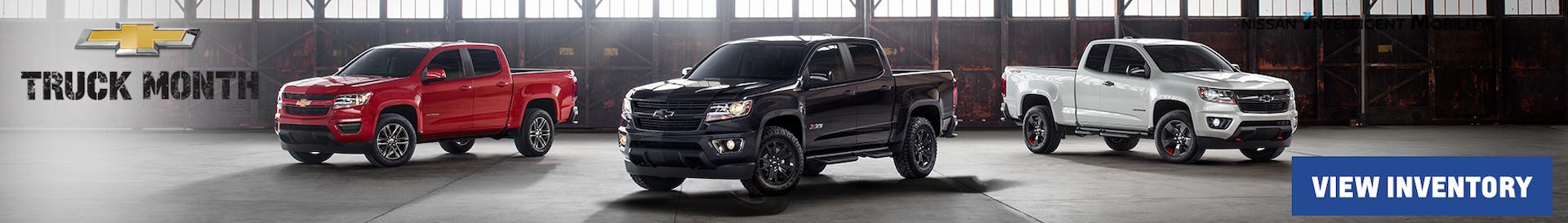 2019 Chevrolet Truck Month