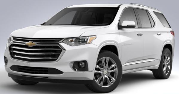2020 Chevy Traverse High Country Trim