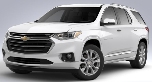 2020 Chevy Traverse Premier Trim