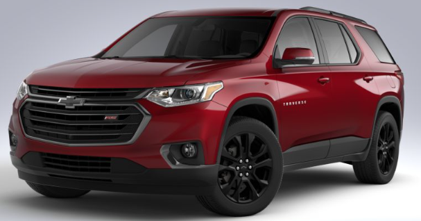 2020 Chevy Traverse RS Trim