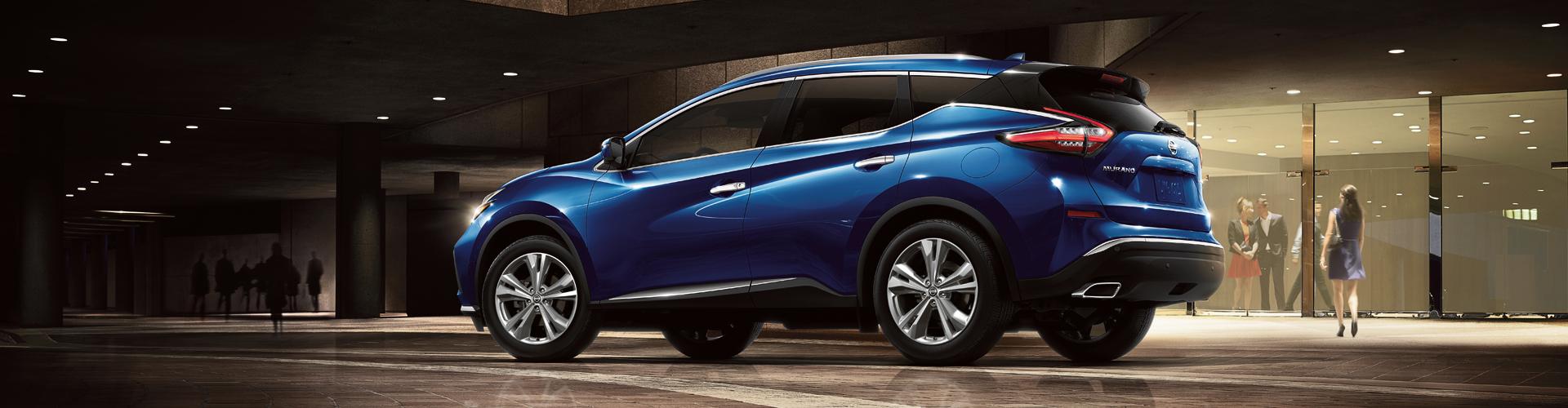 2021 Nissan Murano Exterior Design - Blue