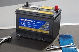 ACDelco Gold 42-MO (ACDelco Professional) Batteries Installed