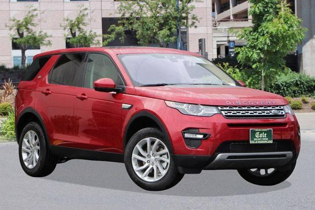 2017 Land Rover Discovery Sport HSE FWD
