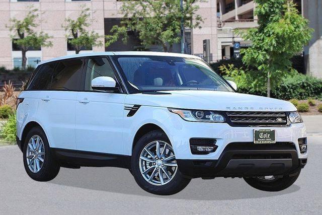 2017 Land Rover Range Rover Sport V6 Turbocharged Diesel 3.0L 4WD w/ Navigation