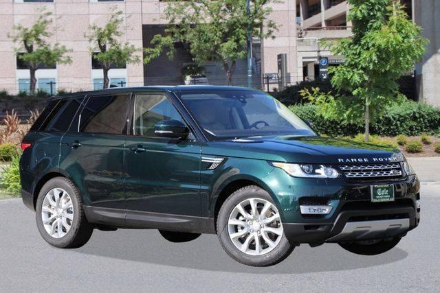 2017 Land Rover Range Rover Sport V6 Supercharged HSE 3.0L 4WD w/ Navigation