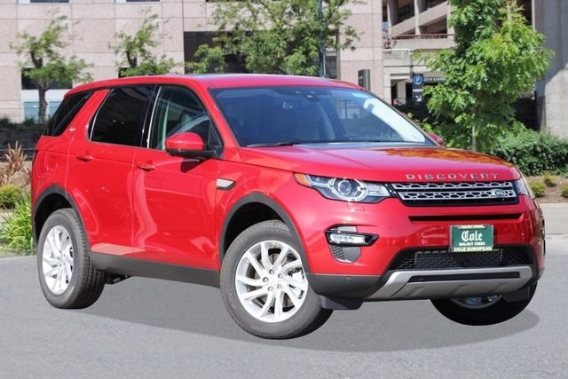 2017 LAND ROVER DISCOVERY SPORT HSE FOUR WHEEL DRIVE SUV