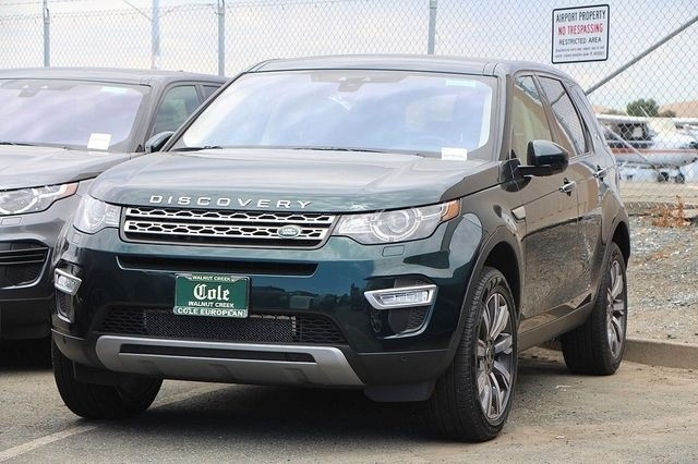 New 2017 Land Rover Discovery Sport HSE LUX Four Wheel Drive SUV