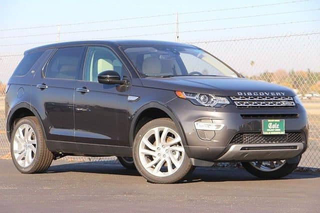 NEW 2017 LAND ROVER DISCOVERY SPORT HSE LUX 4WD