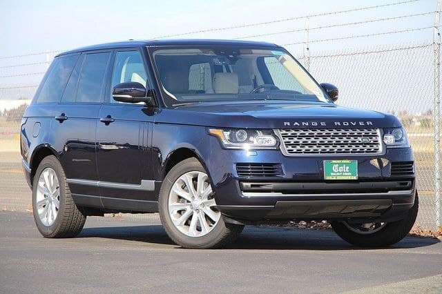NEW 2017 LAND ROVER RANGE ROVER SUPERCHARGED HSE