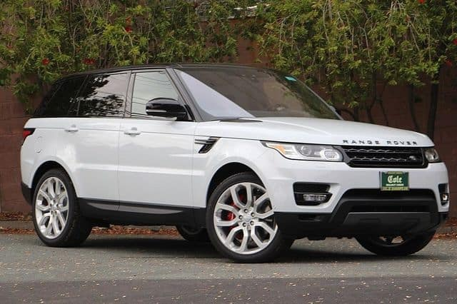 NEW 2017 LAND ROVER RANGE ROVER SPORT SUPERCHARGED 4WD