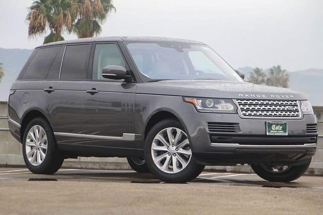 NEW 2017 LAND ROVER RANGE ROVER SUPERCHARGED HSE 4WD