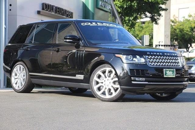 NEW 2017 LAND ROVER RANGE ROVER SUPERCHARGED 4WD