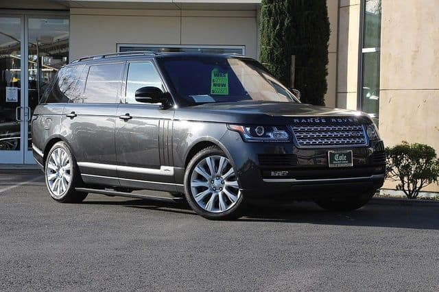 2017 LAND ROVER RANGE ROVER SUPERCHARGED 4WD