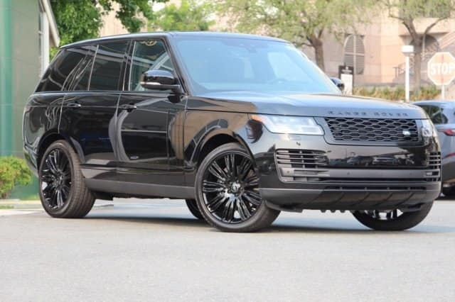 NEW 2018 LAND ROVER RANGE ROVER SUPERCHARGED 4WD - DEMO VEHICLE