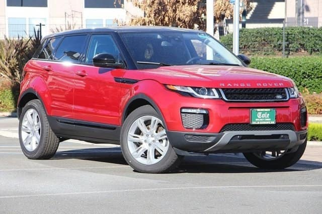 NEW 2018 LAND ROVER RANGE ROVER EVOQUE SE 4WD
