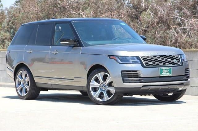 NEW 2018 LAND ROVER RANGE ROVER SUPERCHARGED 4WD